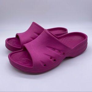 L.L bean slide pink sandals